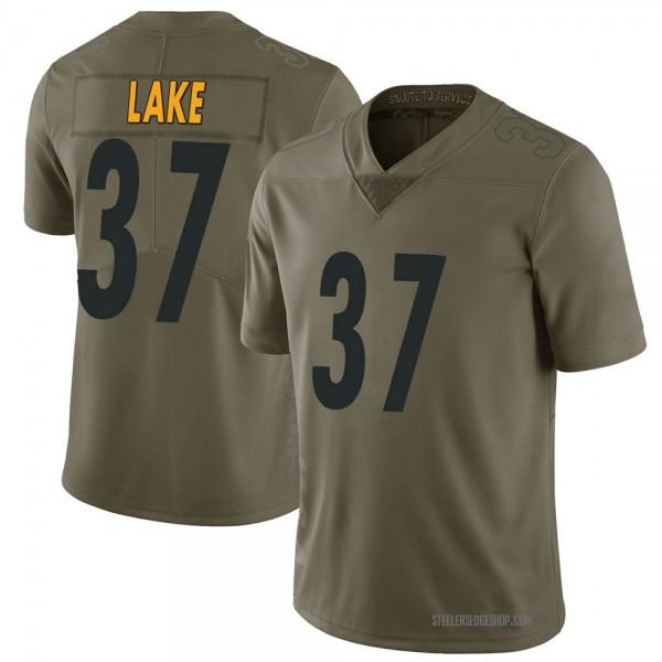 Carnell Lake Pittsburgh Steelers Limited Green 2017 Salute to Service Jersey