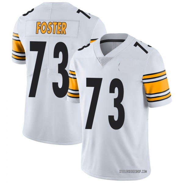 Ramon Foster Pittsburgh Steelers Limited White Vapor Untouchable Jersey