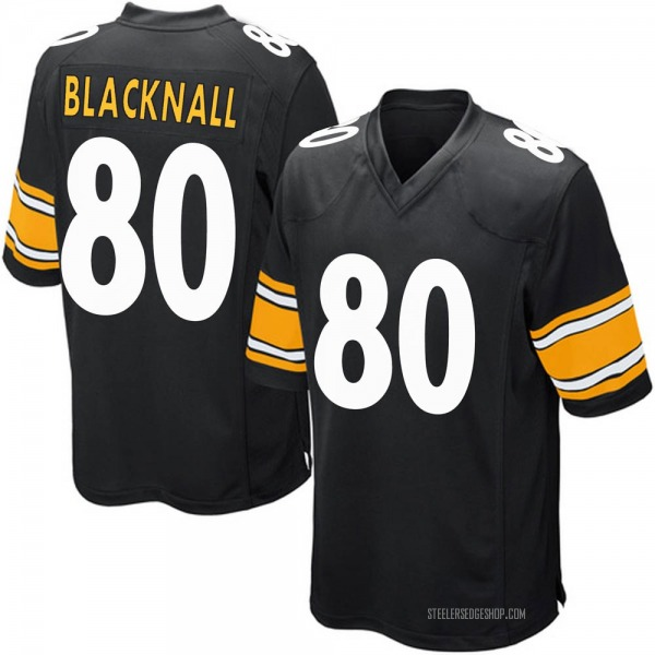 Saeed Blacknall Pittsburgh Steelers Game Black Team Color Jersey
